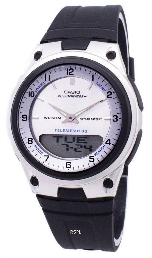 Analogique Casio numérique fiche illuminateur AW-80-7AVDF AW-80-7AV montre homme