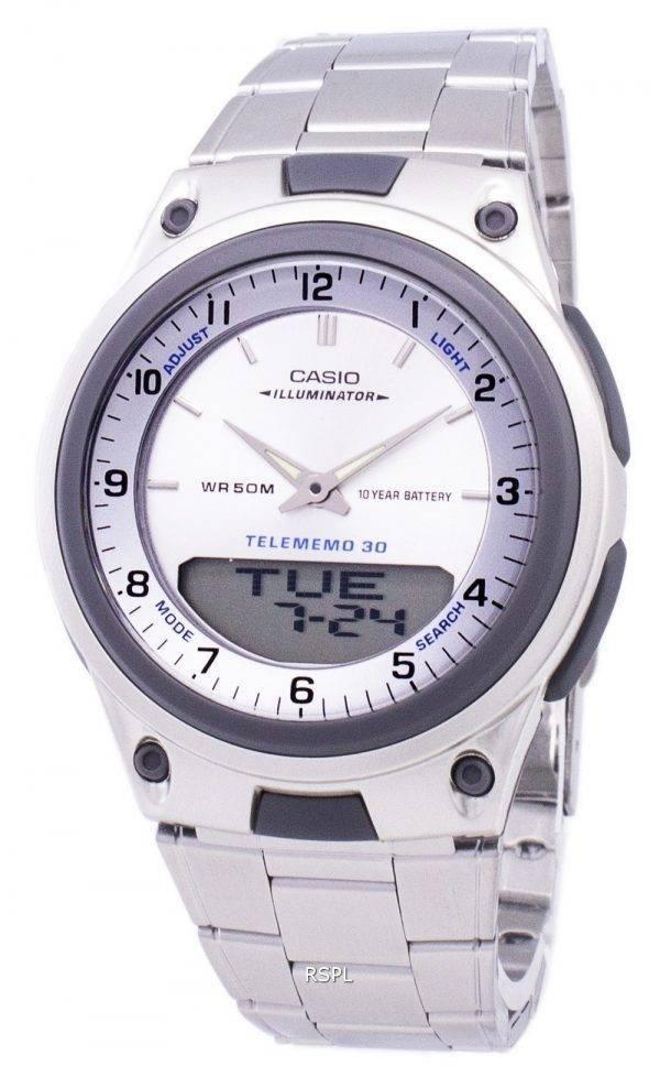 Analogique Casio numérique fiche illuminateur AW-80D-7AVDF AW-80D-7AV montre homme