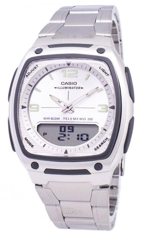 Analogique Casio numérique fiche illuminateur AW-81D-7AVDF AW-81D-7AV montre homme