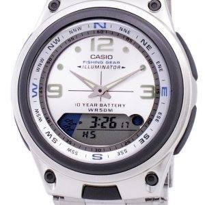 Casio analogiques numériques des engins de pêche illuminateur AW-82D-7AVDF AW-82D-7AV montre homme