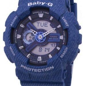 Casio Baby-G Tandem série monde temps BA-110DC-2 a 2 BA110DC-2 a 2 Women Watch