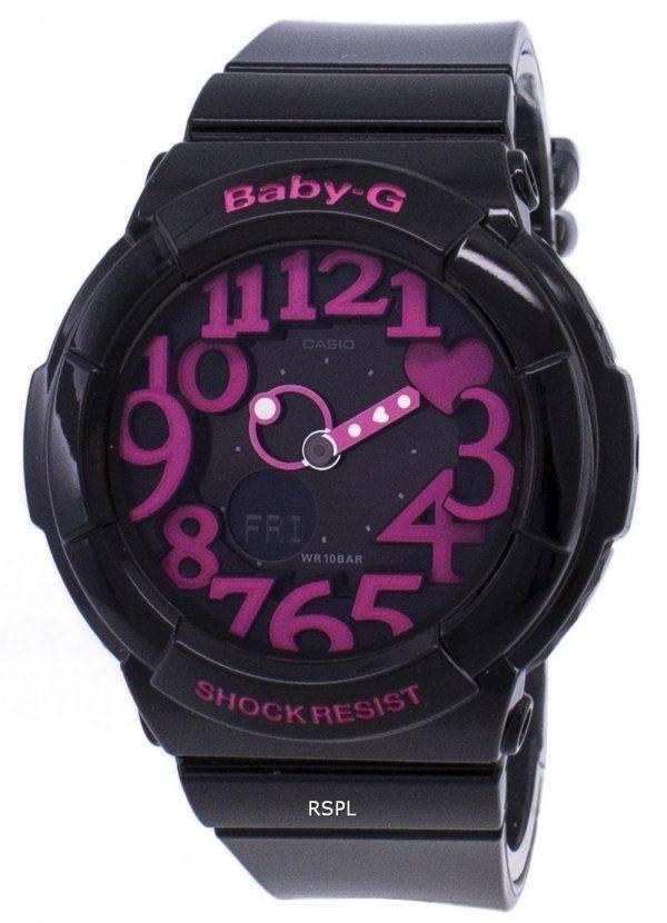 Casio Baby-G Neon illuminateur analogique-numérique BGA-130-1 b Women Watch