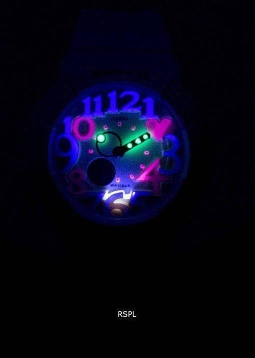 Montre Casio Baby-G numérique-analogique Neon Illuminator BGA-131-7B femmes