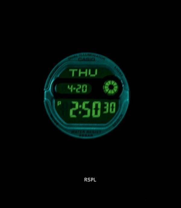 Montre Casio Baby-G Double Illumination Heure monde numérique BGD-140-1A femmes