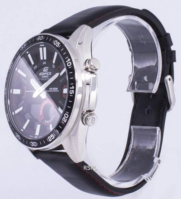 Montre Casio Edifice alarme analogique Digital Quartz EFVC100L-1AV EFV-C100L-1AV homme