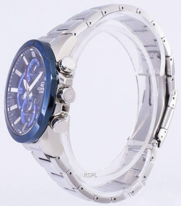 Casio Edifice Bluetooth Tough Solar Dual Time EQB-900DB-2 a EQB900DB-2 a montre homme