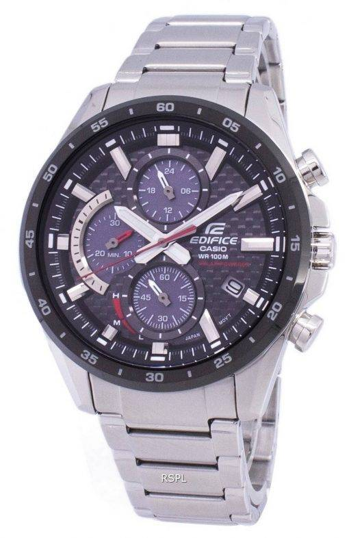 Casio Edifice Chronograph solaire EQS900DB-1AV NQE-900DB-1AV Men Watch