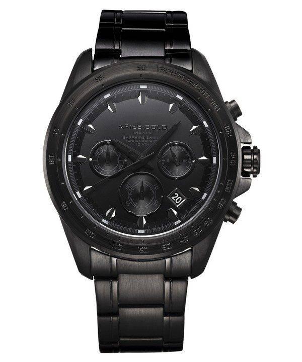 Aries or inspirer montre Drifter Chronographe Quartz G 7001 BK-OUT homme