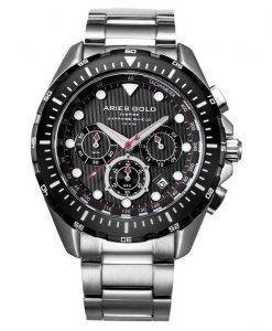 Aries or inspirer montre Atlantique Chronographe Quartz G 7002 SBK-BK homme