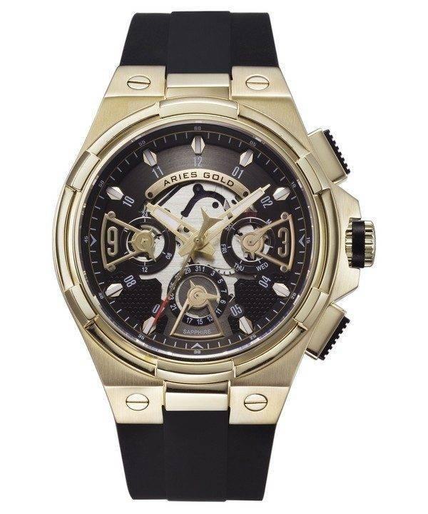 Aries or inspirer montre foudre Quartz G 7003 G-BKG homme