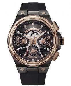 Aries or inspirer montre foudre Quartz G 7003 BKRG-BKRG homme