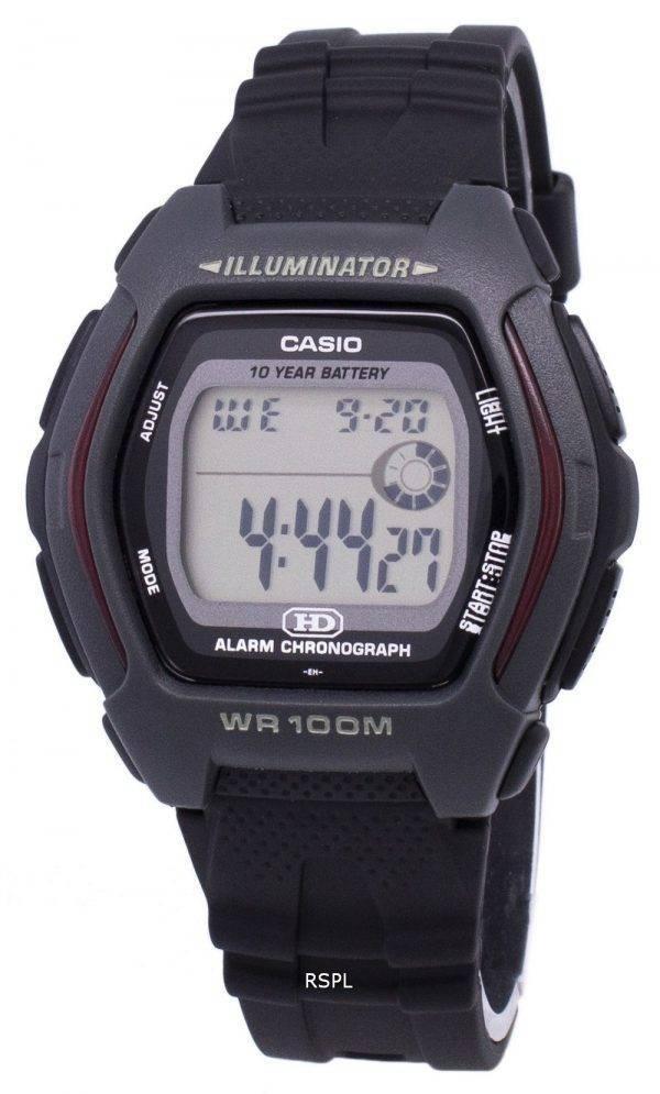 Casio Digital alarme chronographe illuminateur HDD-600-1AVDF HDD-600-1AV montre homme