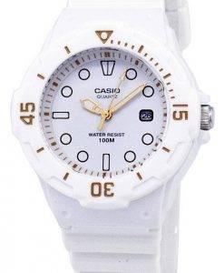 Casio Enticer classique analogique cadran blanc LRW-200H-7E2VDF Montre LRW-200H-7E2V femmes
