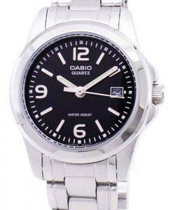 Montre Casio analogique Quartz cadran noir LTP-1215A-1ADF LTP-1215A-1 a féminin