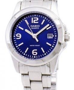 Montre Casio analogique Quartz cadran bleu LTP-1215A-2ADF LTP-1215A-2 a féminin