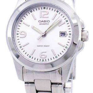 Casio à quartz analogique cadran blanc Montre LTP-1215A-7ADF LTP-1215A-7A femmes
