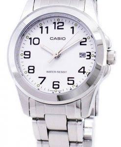 Montre Casio analogique Quartz cadran blanc LTP-1215A-7B2DF LTP-1215A-7 b 2 féminines