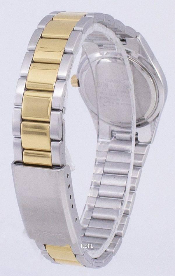 Casio Enticer quartz analogique cadran en or Montre LTP-1253SG-9ADF LTP-1253SG-9A femmes