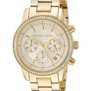 Michael Kors Ritz Chronographe Quartz diamant Accents MK6356 Women Watch