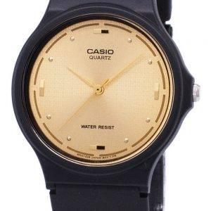 Montre Casio Quartz Enticer analogique cadran or MQ-76-9ALDF MQ-76-9AL homme