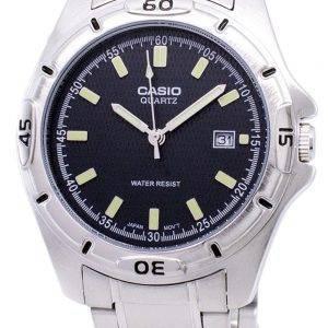 Casio Enticer Quartz analogique cadran noir PSG-1244D-8ADF PSG-1244 M-8 a montre homme