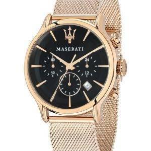 Maserati Epoca Chronographe Quartz R8873618005 montre homme