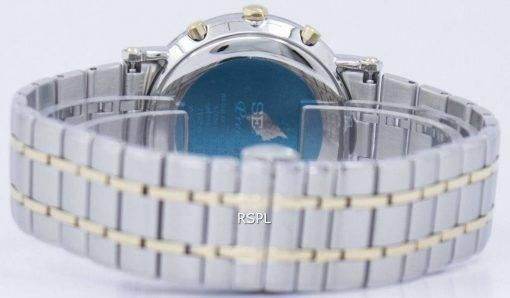 Montre Seiko Premier Chronograph Quartz alarme SNAF80 SNAF80P1 SNAF80P hommes