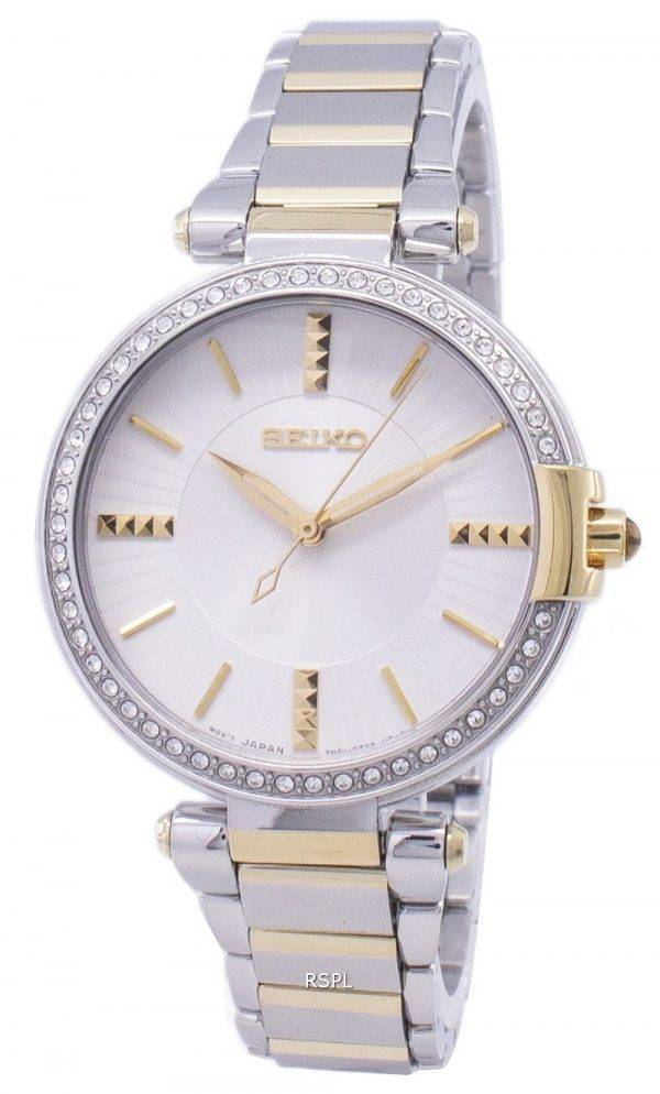 Analogiques Seiko Quartz diamant Accents Watch SRZ516 SRZ516P1 SRZ516P féminin