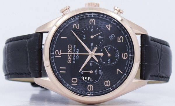 Montre Seiko classique Chronographe Quartz SSB296 SSB296P1 SSB296P hommes