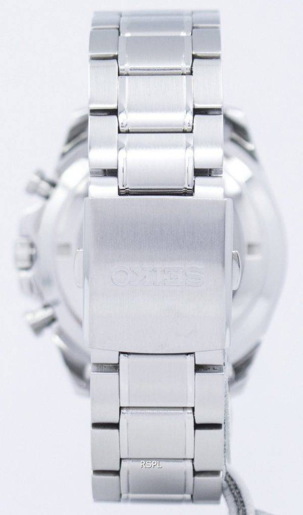 Montre Seiko chronographe Quartz tachymètre SSB297 SSB297P1 SSB297P hommes
