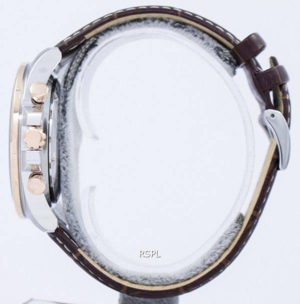Montre Seiko chronographe Quartz tachymètre SSB306 SSB306P1 SSB306P hommes