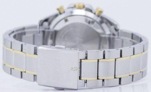 Montre Seiko chronographe Quartz tachymètre SSB309 SSB309P1 SSB309P hommes