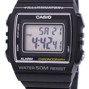 Montre unisexe Casio Digital alarme chronographe W-215H-1AVDF W-215H-1AV
