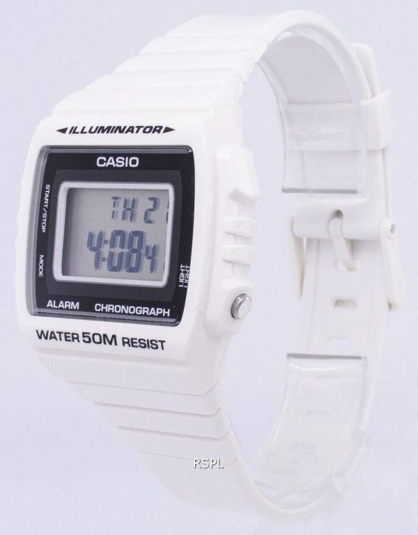 Casio Digital alarme chronographe W-215H-7AVDF W-215H-7AV montre unisexe