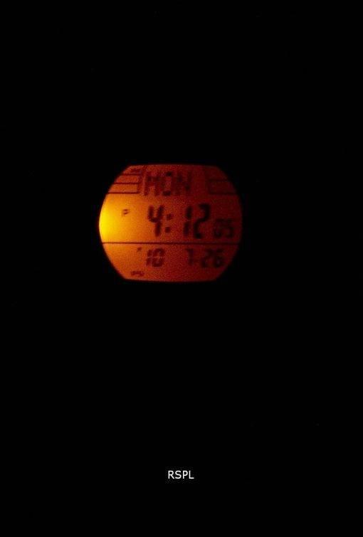 Casio Digital Tough Solar 5 alarmes illuminateur W-S200H-1BVDF montre homme