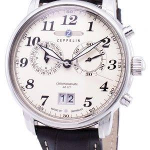 Zeppelin série LZ127 Graf Allemagne fait 7684-5 76845 montre homme