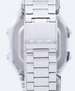 Casio Digital inox alarme Chrono Dual Time A178WA 1ADF  V79p6