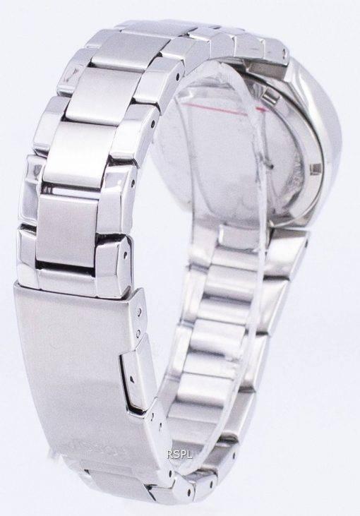 Fossil flash cristal Swarovski cadran en nacre Montre AM4141 femmes