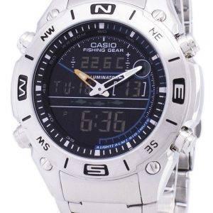 Analogique Casio Digital pêche Gear monde temps AMW-703D-1AVDF AMW-703D-1AV montre homme