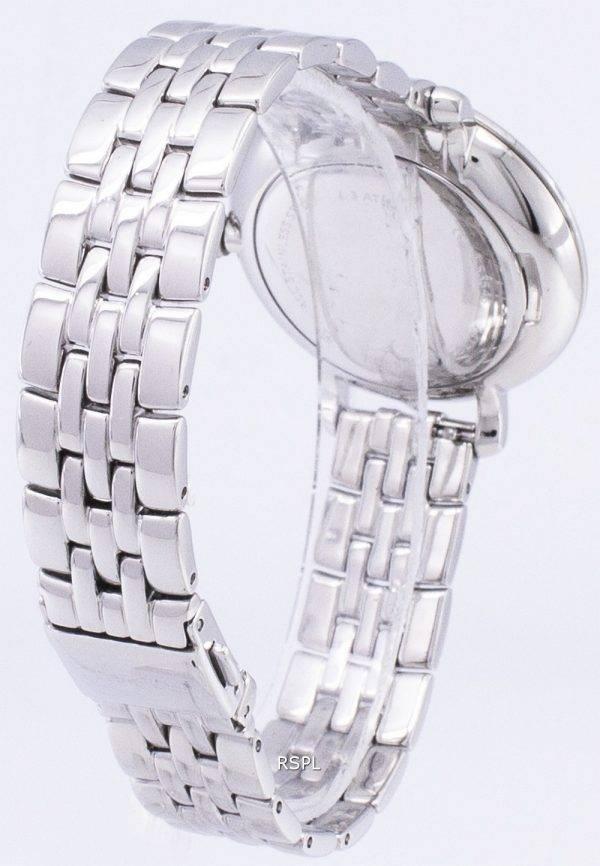 Fossiles des cristaux de Quartz Jacqueline Accents ES3545 femmes montre