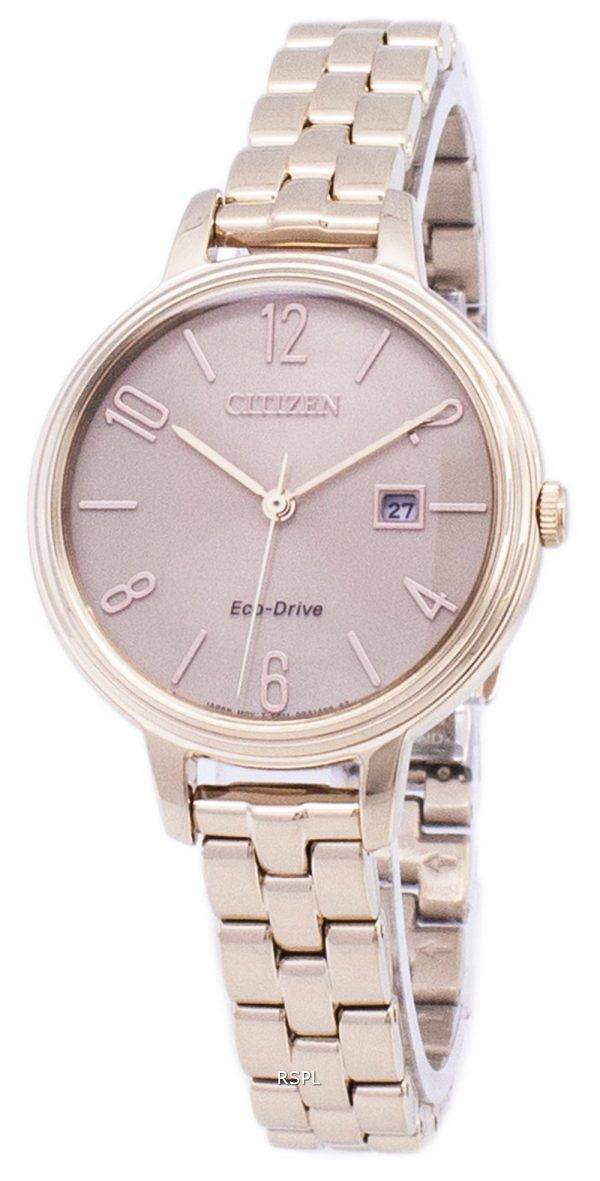 Citizen Eco-Drive Chandler Silhouette EW2443-55 X Women Watch