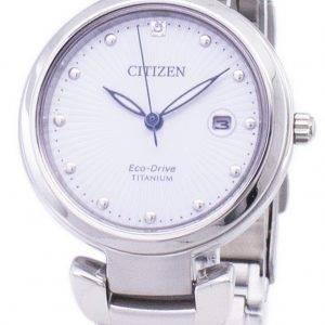 Montre Citizen Eco-Drive Super Titanium EW2500-88 a féminin