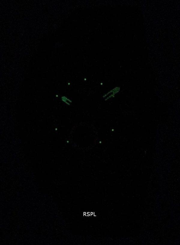 Machine fossile Chronograph IP noir inox FS4552 montre homme