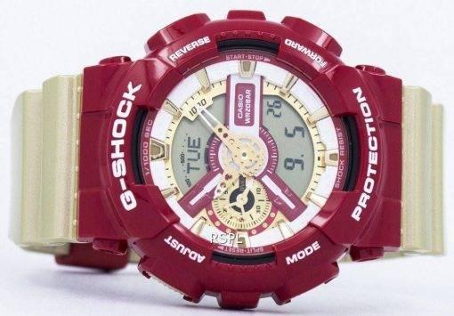 """Casio G-Shock Limited Edition analogique numérique """"BOLD"""" couleur GA-110CS-4 a montre homme"""