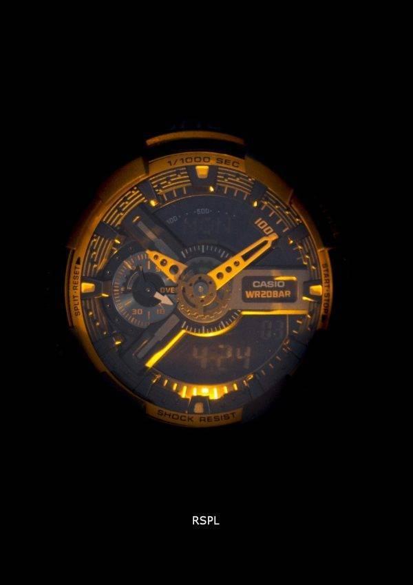 Montre analogique-numérique Casio G-Shock GA-110TS-1 a 4 masculine