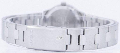 Montre Casio Enticer Quartz analogique cadran rose LTP-1241D-4ADF LTP-1241D-4 a féminin