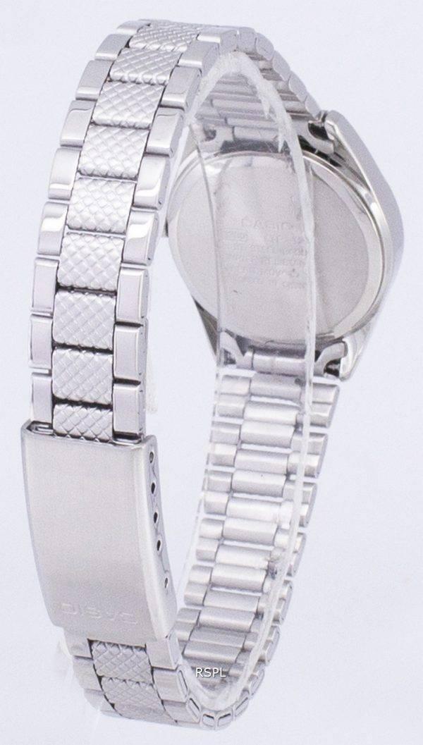 Casio à quartz analogique cadran blanc LTP-1274D-7ADF LTP-1274D-7A Montre Femme