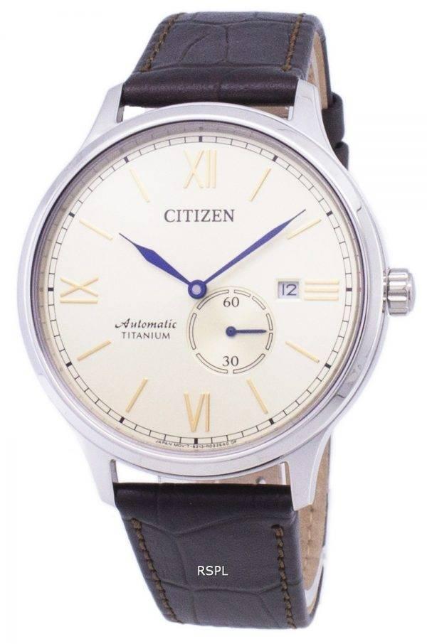 Montre Citizen Super titane automatique NJ0090 - 13p masculine