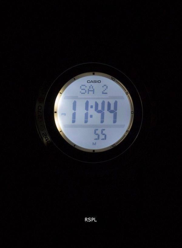 Casio Protrek numérique atomique Tough Solar Triple Sensor PRW - 3000G - 7D montre