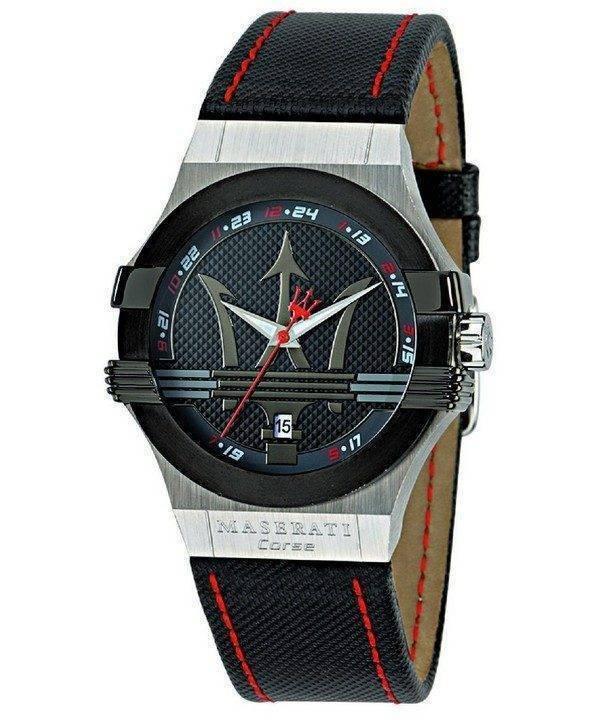 Montre Quartz analogique Maserati Potenza R8851108001 masculin